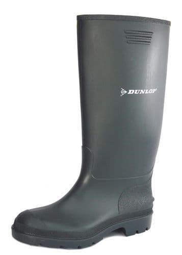 Dunlop Price Master 380VP/PP Black Wellingtons